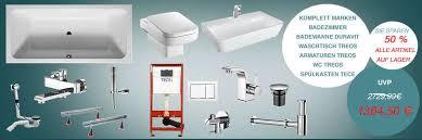 badezimmer badewanne duravit 170cm treos wc waschtisch armaturen