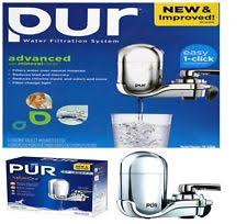 Pur Advanced Faucet Water Filter Manual by Pur 3 Stage Water Filter Ebay