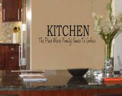 Kitchen Wall Quotes Uk