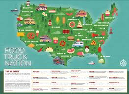 Study: How Overregulation Is Stifling The Food Truck Revolution ... Delivery Goods Flat Icons For Ecommerce With Truck Map And Routes Staa Stops Near Me Trucker Path Infinum Parking Europe 3d Illustration Of Truck Tracking With Sallite Over Map Route City Mansfield Texas Pennsylvania 851 Wikipedia Road 41 Festival 2628 July 2019 Hill Farm Routes 2040 By Us Dot Usa Freight Cartography How Much Do Drivers Make Salary State Map Food Trucks Stock Vector Illustration Dessert