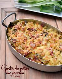 recette de gratin de pâtes aux poireaux la recette facile