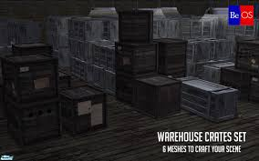 BeOSBoxBoys Warehouse Crates Set