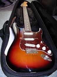 Custom Brown Sunburst John Mayer Strat Ocaster 3 TS Three Tone Sunbur
