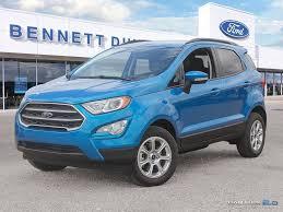 New Ford Trucks SUVs Cars In Regina | Bennett Dunlop Ford