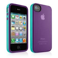 Amazon Belkin Essential Case for iPhone 4 4S Purple Blue