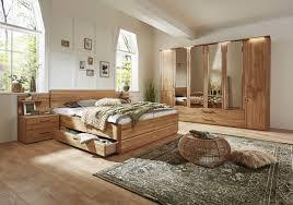 valmondo schlafzimmer trento plus in eiche natur massiv 8201000100