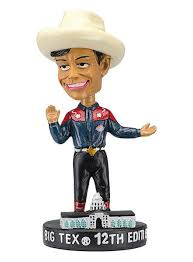 State Fair Of Texas Big TexR 12th Edition Bobble Head