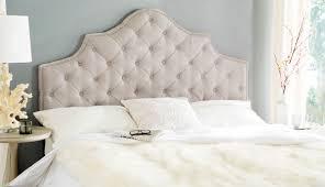 Skyline White Tufted Headboard by Bedroom Bring Your Bedroom Looks New With Tufted Headboards