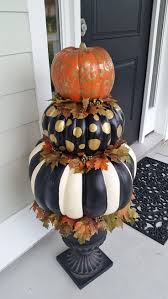Fake Carvable Pumpkins by Best 25 Pumpkin Topiary Ideas On Pinterest Fall Topiaries Fake