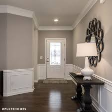 Sherwin Williams Mindful Gray Color Spotlight Living Room