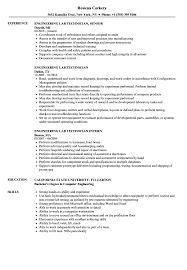 Download Engineering Lab Technician Resume Sample As Image File