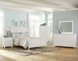 vaughan bassett ellington white 624 bedroom group
