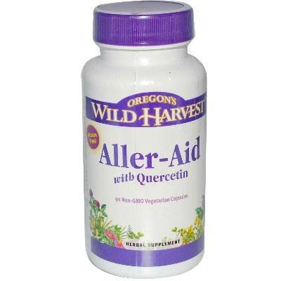 Oregon's Wild Harvest Aller-Aid With Quercetin - 90 Capsules, 545mg