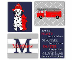100 Fire Truck Wall Art Engine Fighter Nursery Prints Or Canvas Etsy
