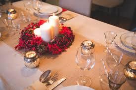 deco table noel nappe marron décoration de noël déco écolo