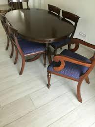 ovale tisch stuhl sets fürs esszimmer günstig kaufen ebay