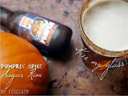 Dogfish Pumpkin Ale Recipe by Pumpkin Spice Sugar Rim U0026 Pumpkin Beer Ny Foodgasm