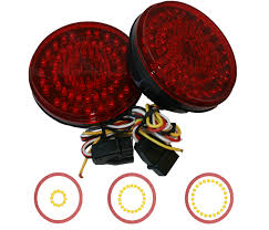 Truck Led Lights, 2 Inch Round Led Lights Amazoncom Driver And Passenger Taillights Tail Lamps Replacement Home Custom Smoked Lights Southern Cali Shipping Worldwide I Hear Adding Corvette Tail Lights To Your Trucks Bumper Adds 75hp 2pcs 12v Waterproof 20leds Trailer Truck Led Light Lamp Car Forti Usa 36 Leds Van Indicator Reverse Round 4 Braketurntail 3 Panel Jim Carter Parts Brake Led Styling Red 2x Rear 5 Functions Ultra Thin Design For Rear Tail Lights Lamp Truck Trailer Camper Horsebox Caravan Volvo Semi Best Resource