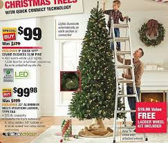 Home Depot Black Friday 9 Ft Quick Set Grand Duchess Slim Pine Christmas Tree