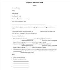 Using The Word I In A Resume by Word Doc Resume Template