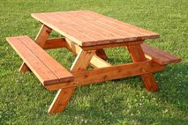 what are some good wood species for picnic tables woodworking