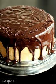 The Ultimate Chocolate Peanut Butter Cake The Recipe Rebel