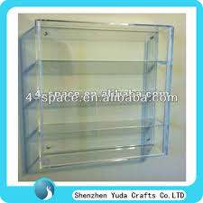 Wall Mounted Acrylic Display Case Toy Cases