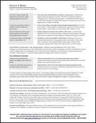 Sample Manufacturing Resume 2