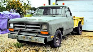 1990 Dodge Diesel: The Ultimate Adventure Tug Truck! - Dirt Every ...