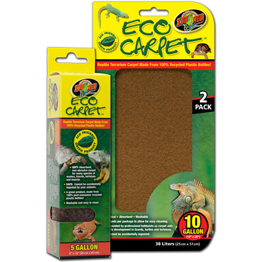 "Zoo Med Reptile Cage Carpet for Tanks - 24"" X 12"""