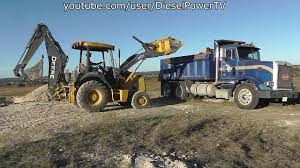 Loading Peterbilt Dump Truck With JD 310J Backhoe - YouTube Mighty Ford F750 Tonka Dump Truck Youtube Town And Country 5888 2000 F550 16 Ft Flatbed 1992 Suzuki Carry Mini 4x4 1990 L9000 Kids Video Garbage Limited Pictures Of A 800hp Kenworth W900 How To Draw A Cartoon The Crane Cstruction Trucks Cartoons World Of Cars Quarry Driver 3 Giant Dump Truck Parking Android Gamepplay F700 Dump Truck Sold Product