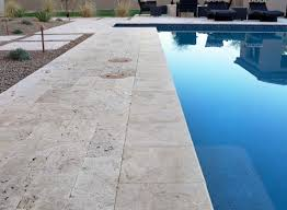 travertine pavers and tiles tumbled ivory and classic
