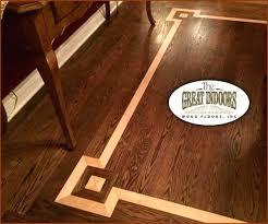 inlaid wood floor medallions wood inlay into a hardwood floor