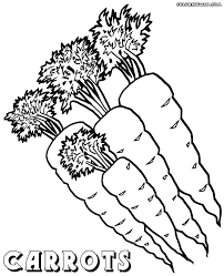 Carrot 4 Coloring Page Free Printable Pages New