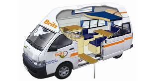 Similar To The Spirit 2 This Vehicle Is For A Couple Or With Two Small Children It Has Drop Down Double Bunk And Dining Are Beneath