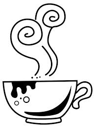 Cup Clipart Rh Openclipart Org Coffee Clip Art Black And White Transparent