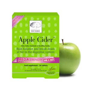 New Nordic Mega Strength Apple Cider - 45g, 30 Tablets
