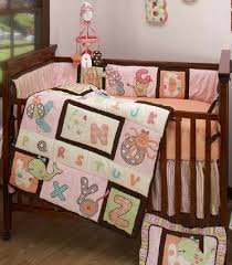 abc me baby crib bedding by kimberly grant crown crafts nojo