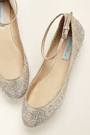 Blue by Betsey Johnson Crystal Ballet Flat Style SBJOY