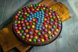smarties schokoladen kuchen