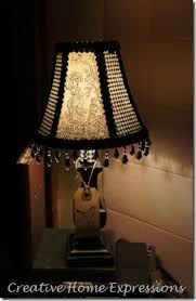 111 best Beaded Lamp Shade images on Pinterest