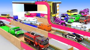 100 Toy Trucks Youtube Download Thumbnail For Learn Colors For Kids With Street Vehicles