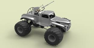 Bigfoot Monster Truck Model - TurboSquid 1223444