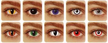 Blue Prescription Halloween Contacts by Great Color And Crazy Eye Contacts For Events Or Halloween
