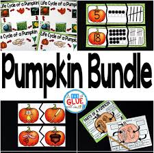 Life Cycle Of A Pumpkin Seed Worksheet by Pumpkin Bundle A Dab Of Glue Will Do