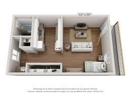 100 500 Square Foot Apartment Floor Plans Of Harvard In Dallas TX