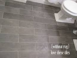inspiration idea bathroom floor tile plank explore gray ceramic