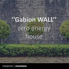 100 Gabion House Walls Within Your Zero Energy House Highly Recomanded