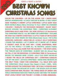 120 Best Known Christmas Songs Piano Vocal Guitar