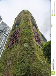 100 Hanging Gardens Hotel Red Corner View Editorial Image Image Of